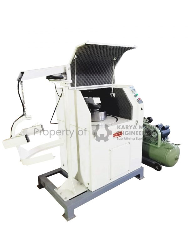 Lab Pulverizer Pneumatic